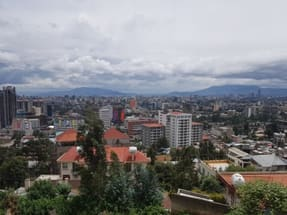 View of Addis Ababa, Ethiopia
